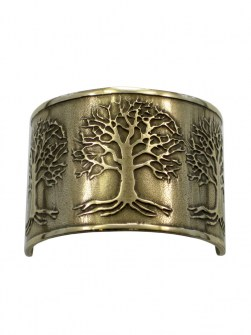 Celtic 3 Trees of Life Ponytail Holder BRC-1