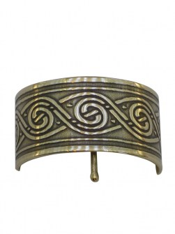 Celtic Swirl Ponytail Holder BRC-19