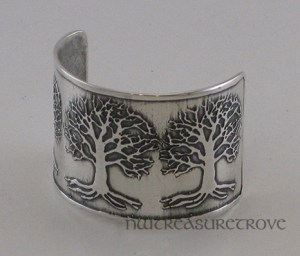 Celtic 3 Trees of Life Ponytail Holder SC-1