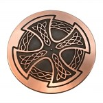 Copper Celtic Cross Hair Tie