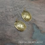 Unicorn Brass Earrings BE-43