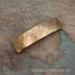 Design #16 Brass Large Barrette BHC-63