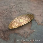Design #81 Brass Large Barrette BHC-81