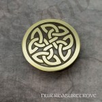 Medieval Castle Brass Hair Tie BHT-234