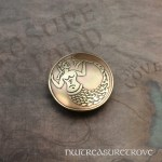 Medieval Mermaid Brass Hair Tie BHT-15