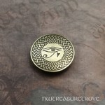 Eye of Horus Brass Hair Tie BHT-17