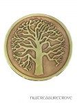Tree of Life Brass Hair Tie BHT-2