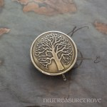 Tree of Life Bronze Hair Tie BRHT-1