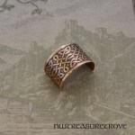 Celtic Knots Copper Ponytail Holder CC-5
