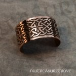 Celtic Knot Copper Ponytail Holder CC-133