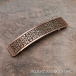 Celtic Thin Knot Large Copper Barrette CHC-5