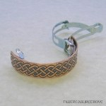 Celtic Knot Copper Ponytail Clip CPC-25