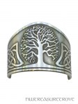 Celtic Tree of Life Nickel Silver Ponytail Holder NC-2