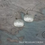 3 Thistles Earrings Nickel Silver NE-10