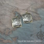 Zodiac Sign Capricorn Earrings Nickel Silver NE-34