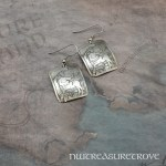 Zodiac Sign Sagittarius Earrings Nickel Silver NE-38