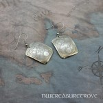 Zodiac Sign Pisces Earrings Nickel Silver NE-51