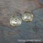 Dragon Earrings Nickel Silver NE-66