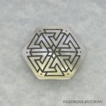 Viking Warriors - Valknut Nickel Hair Tie NHT-102