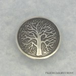 Celtic Tree of Life Nickel Silver Hair Tie NHT-1