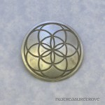 Seed of Life - Nickel Silver Hair Tie NHT-75