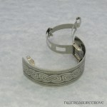 Celtic Knot Nickel Silver Ponytail Clip NPC-22