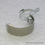 Celtic Knot Nickel Silver Ponytail Clip NPC-62