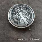 Tree of Life Sterling Silver Hair Tie ST-1
