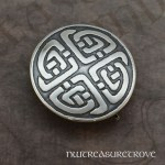 4 Celtic Knots (round) Sterling Silver Hair Tie ST-9