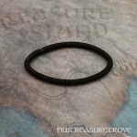 Native American Brass Hair Tie BHT-124