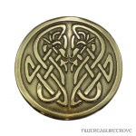 Celtic Dragons & Knots Bronze Hair Tie BRHT-6