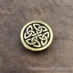 Celtic Knot Round Bass Hair Tie BHT-31