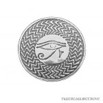 Eye of Horus Sterling Silver Hair Tie ST-17