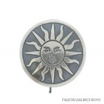 Female Sun Sterling Silver Hair Tie ST-3